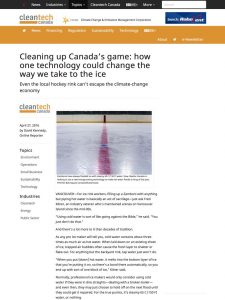 Cleantech Canada Article 26.4.2016