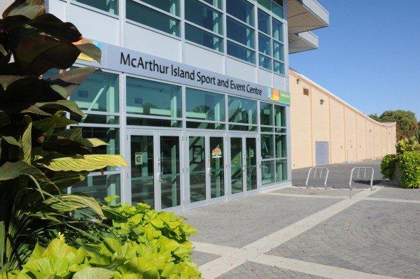 Kamloops - McArthur Island Sports Centre